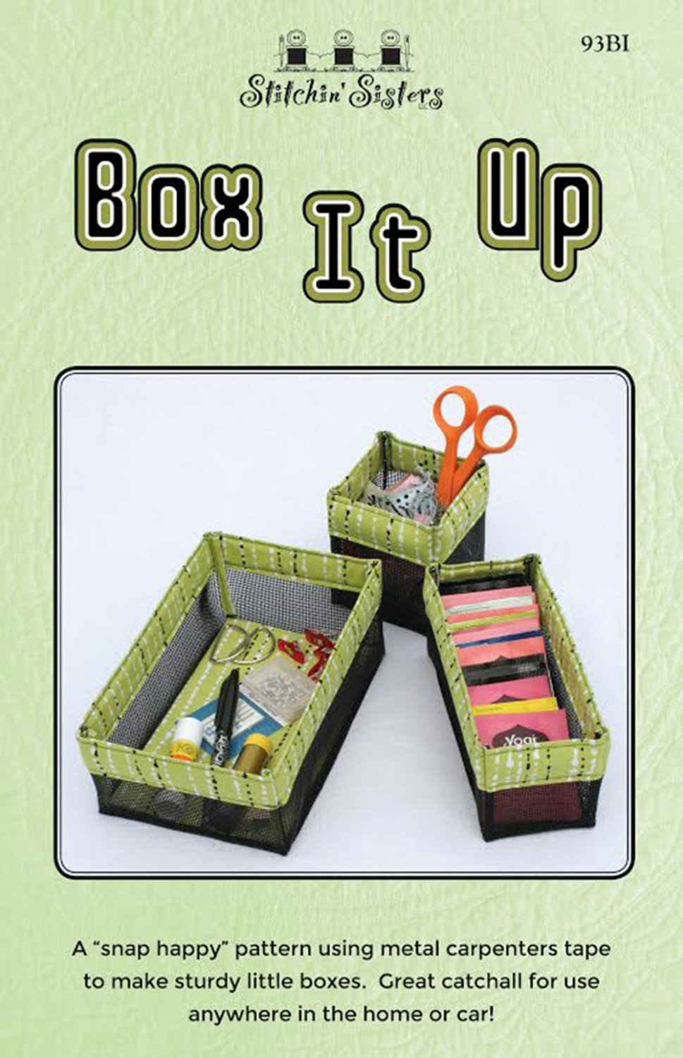 Box It Up Pattern