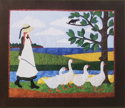 Anne With Geese - Kit