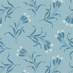 Perfect Union - Marsh in Pale Blue Aqua