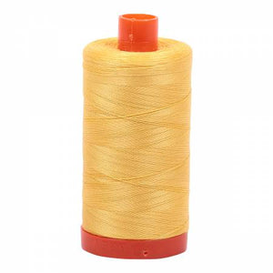 Aurifil Cotton Thread - Pale Yellow
