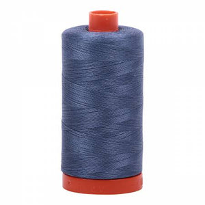 Aurifil Cotton Thread - Dark Grey Blue 1248
