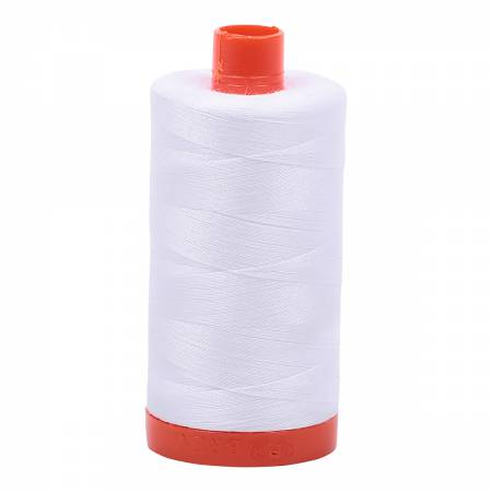 Aurifil Cotton Thread - White 2024