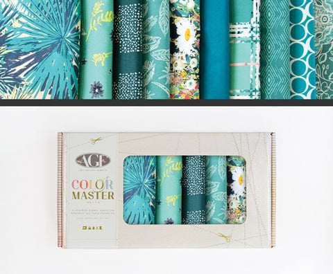 Teal Thoughts - Fat Quarter Bundle