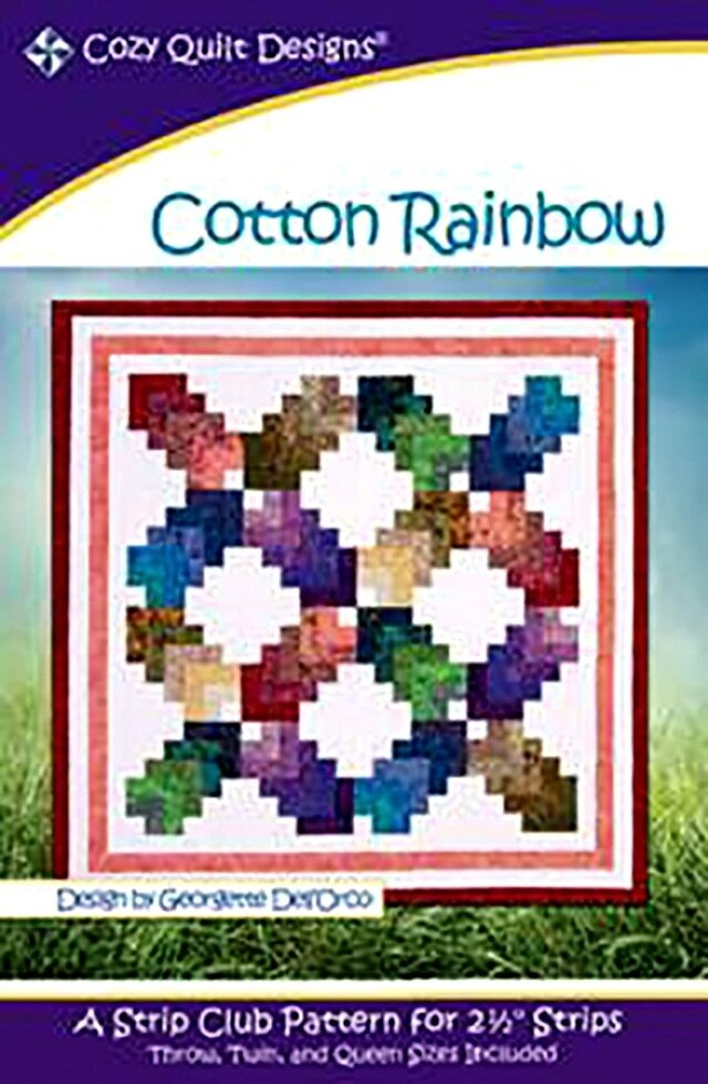 Cotton Rainbow Quilt Pattern