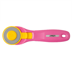 Olfa Quick Change Rotary Cutter - 45mm Pink