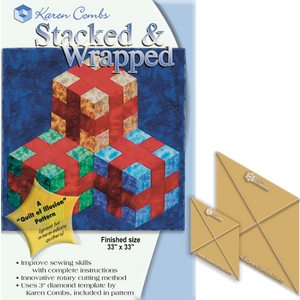 Stacked & Wrapped Pattern with Template Set