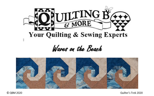 Quilter's Trek 2020 - Waves On The Beach