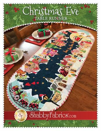 Christmas Eve Table Runner Pattern
