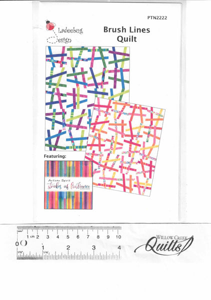 Brush Lines Quilt Pattern