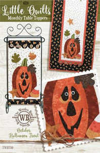 Halloween Treat - Monthly Table Toppers - October Pattern
