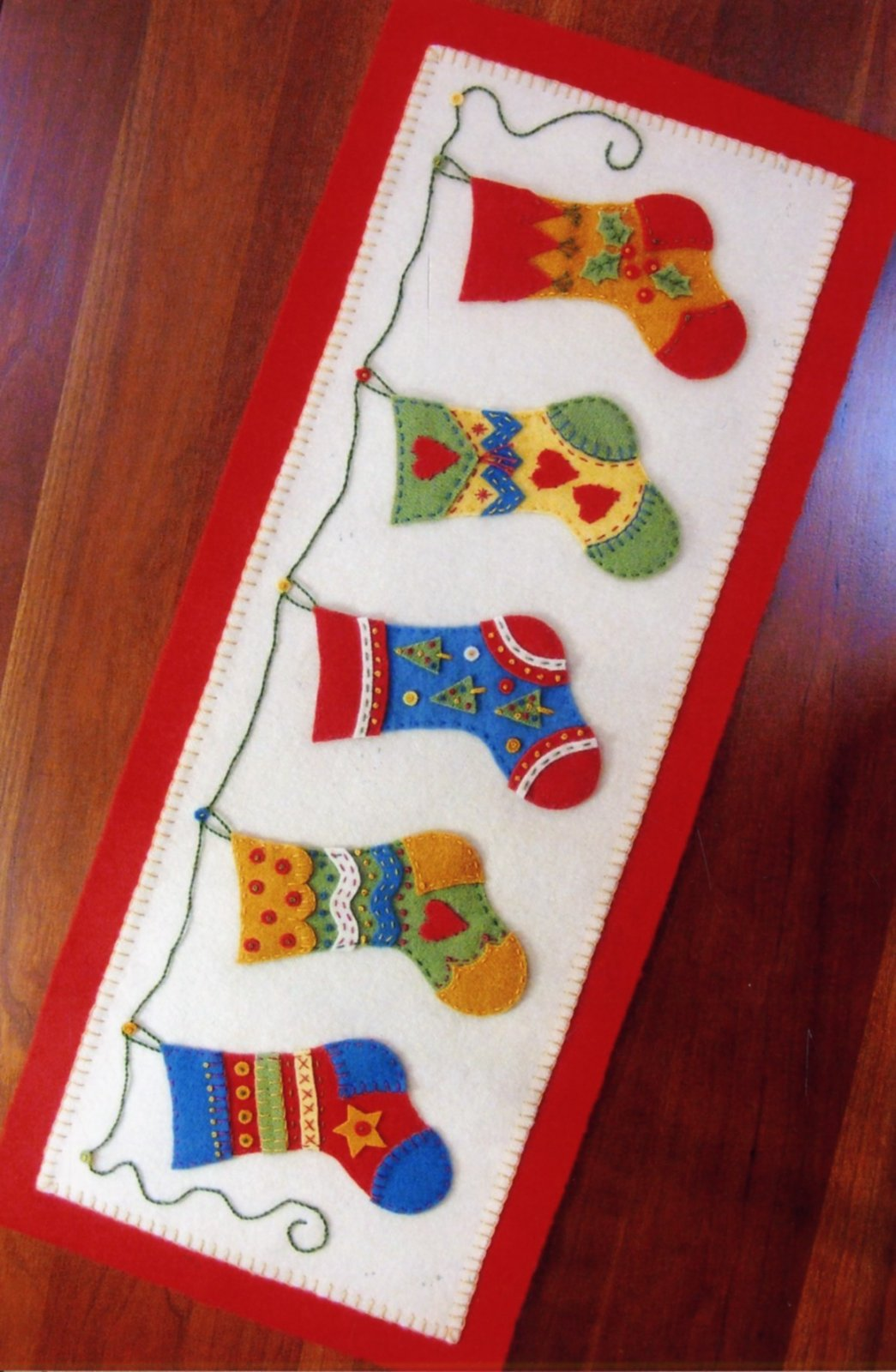 And The Stocking Were Hung Pattern