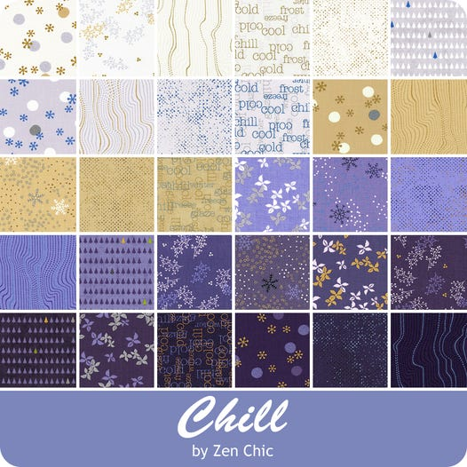 Chill By Zen Chic - Mini Charm Pack