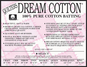 Quilters Dream Cotton - King Select