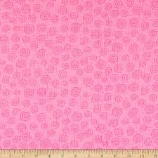 "110"" Wide Cotton Quilt Back - Pink Swirl"