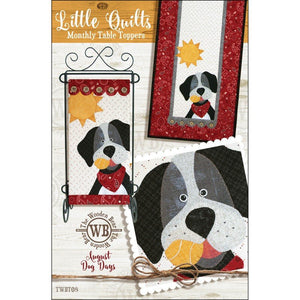 Dog Days - Monthly Table Toppers - August Pattern