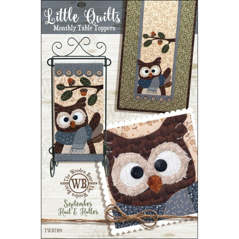 Hoot & Holler - Monthly Table Toppers - September Pattern