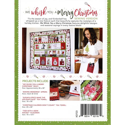 We Whisk You A Merry Christmas Pattern