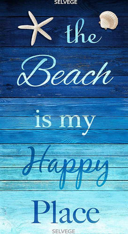 The Beach is My Happy Place - Panel