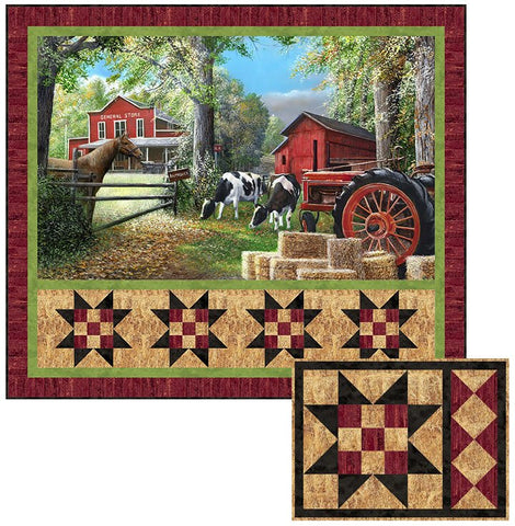 Country Home - Naturescapes Pattern