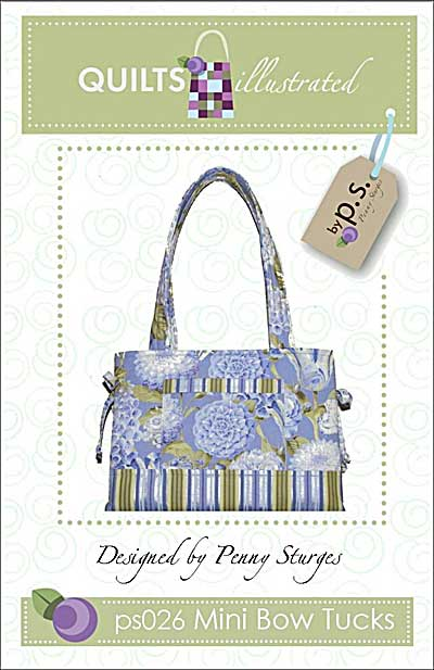 Mini Bow Tucks - Bow Bag Pattern