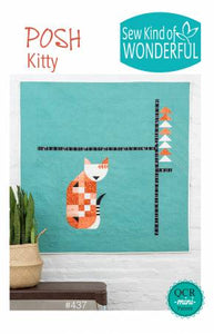 Posh Kitty Quilt Pattern