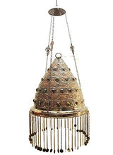 Load image into Gallery viewer, BR75 Outdoor Conical Brass Pendant Lamp/Lampshade Home Decor