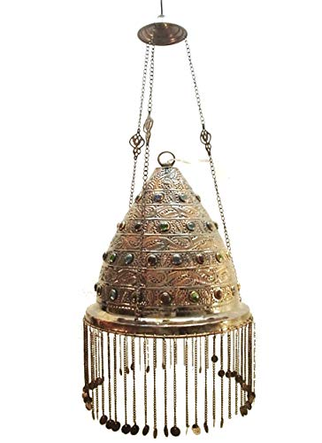 BR75 Outdoor Conical Brass Pendant Lamp/Lampshade Home Decor