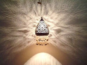 BR26 Handmade Filigrain Art Brass Egyptian Hanging/Pendant Lamp Shade Lampshade