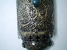 Load image into Gallery viewer, BR153 Home Decor Islamic / Arabian Pierced Brass Wall Sconce