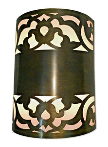 B193 Handmade Brass Cylinder Flush Mount Ceiling Light/Wall Sconce