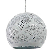 Load image into Gallery viewer, B262G Tin Moroccan Children Color Cheerful Ball Lampshade Gray Hanging Lamp
