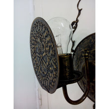 Load image into Gallery viewer, BR200M Unique Antique Reproduction Brass Wall Sconce with Bulb Screen