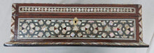 Load image into Gallery viewer, J82 XXL Mother of Pearl Mosaic Chest Egyptian Rectangular Jewelry Box