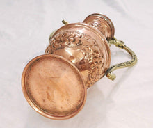 Load image into Gallery viewer, BM3 Vintage Reproduction Ottoman Brass Copper Pitcher, Made in Egypt