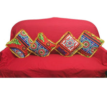 Load image into Gallery viewer, AA106 Ramadan Decor Egypt Tent Fabric- Pillow Cases/Covers & Table Cloth Set