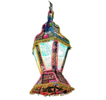 Load image into Gallery viewer, AA124 Egyptian RAMADAN Decoration Eid khayamiya Textile Floor Hanging Lantern