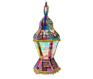 AA124 Egyptian RAMADAN Decoration Eid khayamiya Textile Floor Hanging Lantern