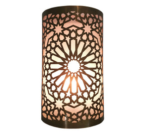 B298 Awesome Arabian Oriental Handmade Brass Wall Decor LED Light Sconce