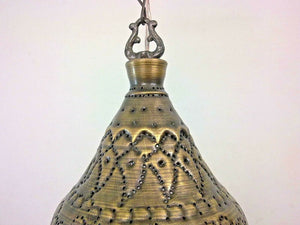 BR311 Outdoor Conical Brass Pendant Lamp/Lampshade Home Decor