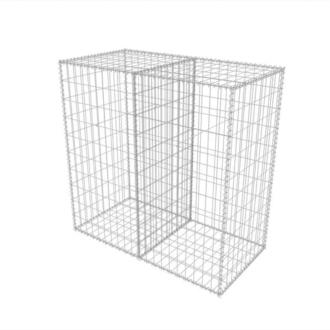 Gabion Basket Galvanised Steel 39.4x19.7x39.4