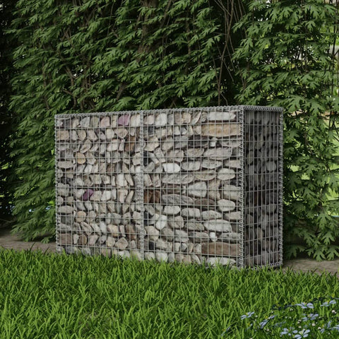 Gabion Basket Galvanised Steel 59x19.7x39.4
