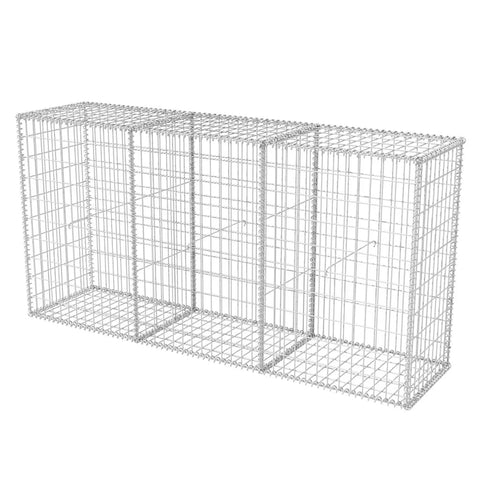 Gabion Basket Galvanised Steel 78.7x19.7x39.4
