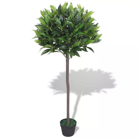 Artificial Bay Tree Plant with Pot 49.2 Green