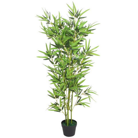 Artificial Bamboo Plant with Pot 47.2 Green