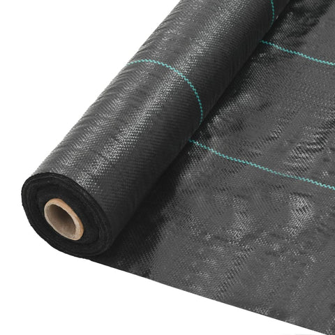 Weed & Root Control Mat PP 6.5'x328' Black
