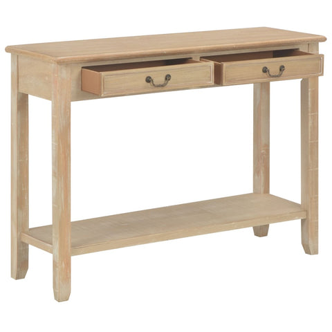 Console Table 43.3x13.7x31.4 Wood