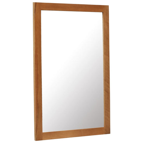 Mirror 23.6x35.4 Solid Oak Wood