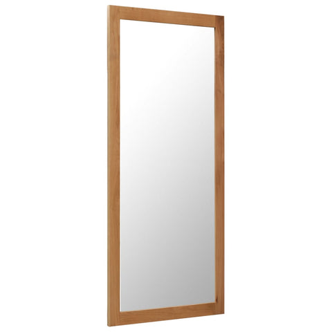 Mirror 19.6x55.1 Solid Oak Wood