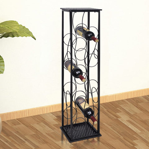 Wine Rack for 8 Bottles Metal