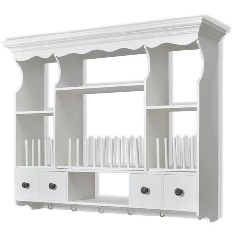 Wooden Kitchen Wall Cabinet White